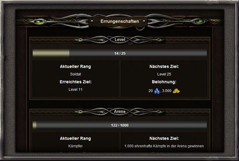 Fantasy Browsergame Screenshot 3