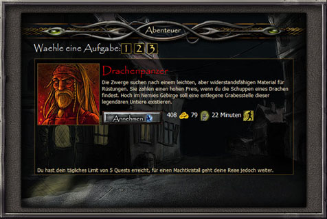 Fantasy Browsergame Screenshot 9